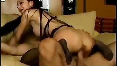 Busty asian bimbo gets pussy licked part6