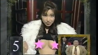 japanese girls exposing her tits tv show