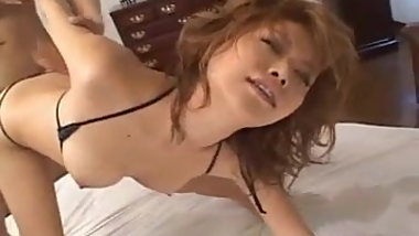 Akane Hotaru Asian babe is ravished by her horny date and ba