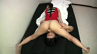 Hot long stinky Japanese face farting