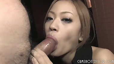Japanese Beauty Pleases A Big Dick
