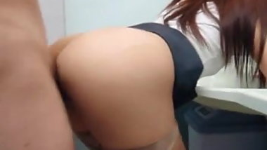 Japanese wife,fuck. at public lavatory.