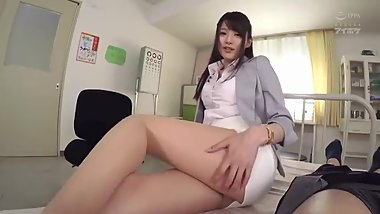 Japanese nurse riding