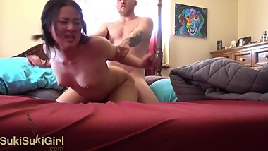big ass asian girl EPIC fuck before school @Andregotbars