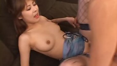 Cute Teen Asian Babe Sucking and gets part2