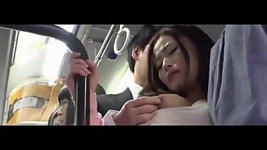 Fucked On a Bus Japanese Asian Babe