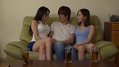 PRED-211 /// I Had A Threesome With My Two Slutty Sisters-In-Law