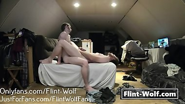 DADDY BEAR FUCKED BY STEPSON