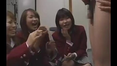 Japanese School Girls and Mean Governess - SPH CFNM - (CHICCHAI = TINY)