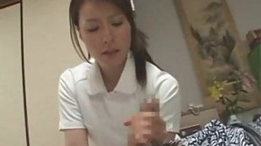 Japanese Masseuse In Love With Cock