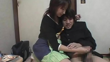 Japanese Handjob Punishment for Shoplifting