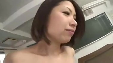 Asian Teen Secretary is fucking her nasty Boss
